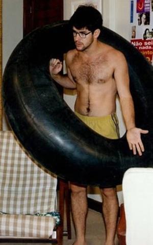 """1996 - Murilo Benício como o Bráulio Vianna / Dráuzio de """"Vira-Lata"""""""