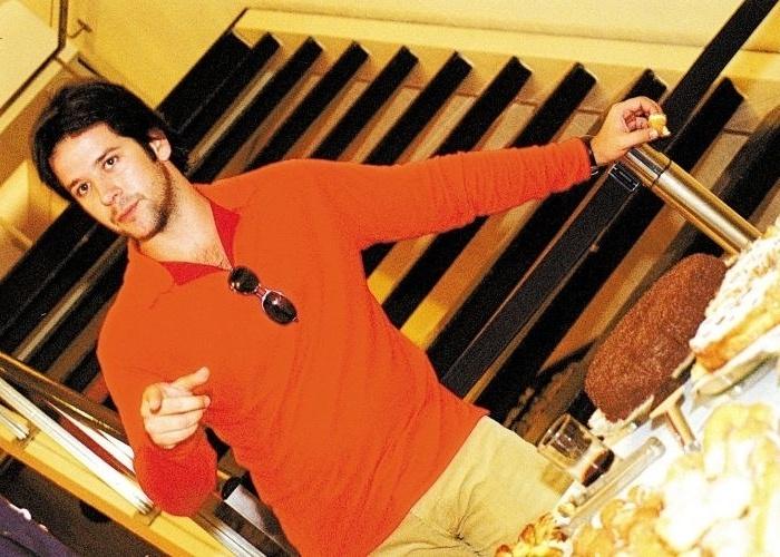 """21.mar.2003 - Murilo Benício durante sessão para amigos de seu novo filme """"O Homem do Ano"""", de José Henrique Fonseca, em São Paulo"""