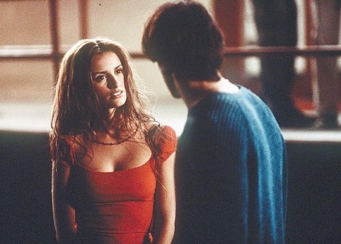"""27.out.2000 - Murilo Benício e Penélope Cruz em cena do filme """"Sabor da Paixão"""", de Fina Torres"""