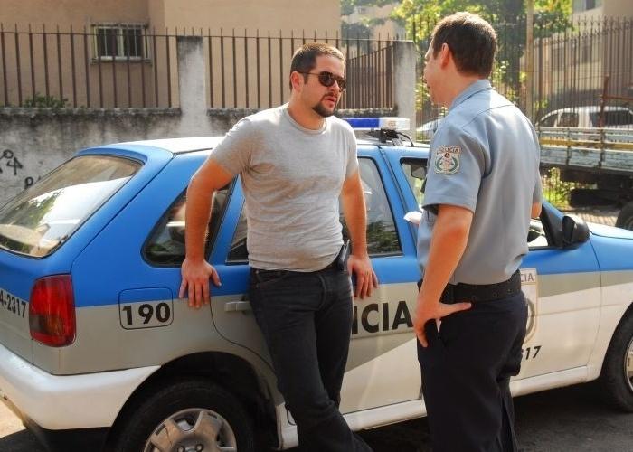 """2009 - Murilo Benício (esq.) em cena de """"Força-Tarefa"""""""