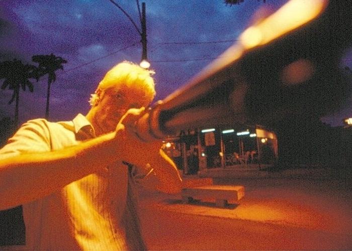 """13.fev.2003 - O ator Murilo Benício na pele do matador de aluguel Maiquel em """"O Homem do Ano"""", filme de José Henrique Fonseca"""