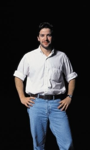 9.jan.2000 - O ator Murilo Benício posa para ensaio fotográfico