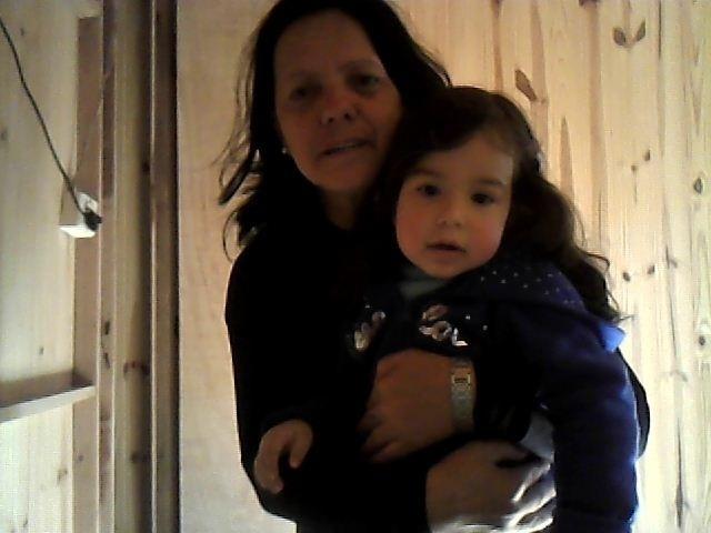 Na foto, aparecem Berenice Bordin Machado e a netinha de 2 anos e 7 meses, Giovana Machado Vargas de São Leopoldo (RS).