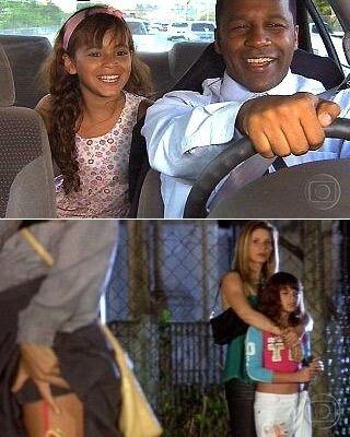 """Outro destaque na carreira da jovem atriz aconteceu logo em seu segundo papel: Maria Flor era uma garota cega que despertou emoção no público da novela """"América"""", da TV Globo, em 2005. Bruna Marquezine, mais uma vez, recebeu elogios por sua atuação"""