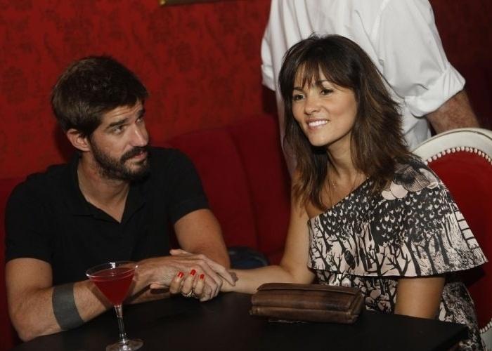 O ex-tenista Flávio Saretta e a atriz Suzana Alves se casaram em 2009 (9/2/10).