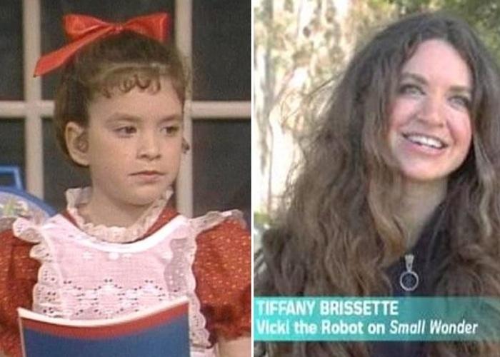 """""""Super Vicky"""" marcou os anos 80 ao ser exibida entre 1985 e 1989 e narrar a história de uma menina-robô. Aos 36 anos, a atriz Tiffany Brissette se mantém longe dos holofotes. Ela optou por seguir a carreira de psicologia, disputar maratonas de corrida e estudar para ser enfermeira."""