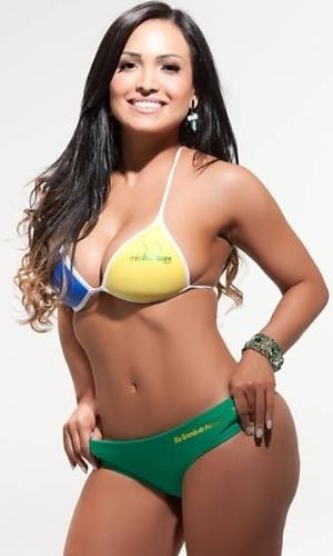 Cris Andrade: a morena do Rio Grande do Norte