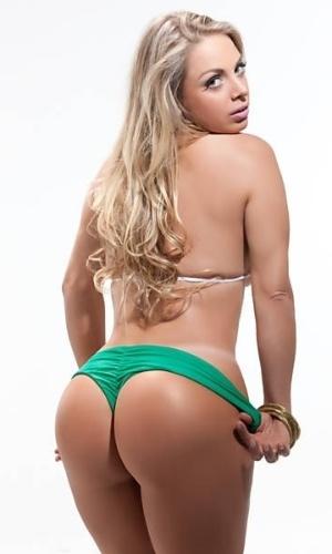 Jéssica Lopez, conhecida como a Peladona de Congonhas, é a candidata da Paraíba