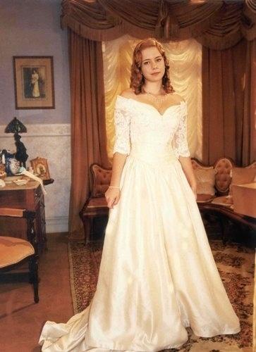 """2000 - Leandra Leal como Bianca, sua personagem na novela """"O Cravo e a Rosa"""", da TV Globo"""