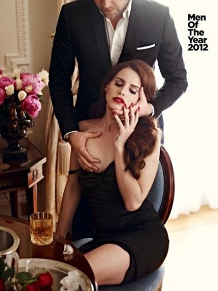 "A cantora norte-americana Lana Del Rey aparece nua na capa da revista ""GQ"" britânica de outubro"