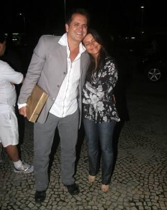 Set.2005 - Cleo é filha de Fábio Jr., mas tem Orlando Moraes, marido de Glória Pires, como um pai de verdade. Os dois foram juntos à festa de aniversário da autora Glória Perez