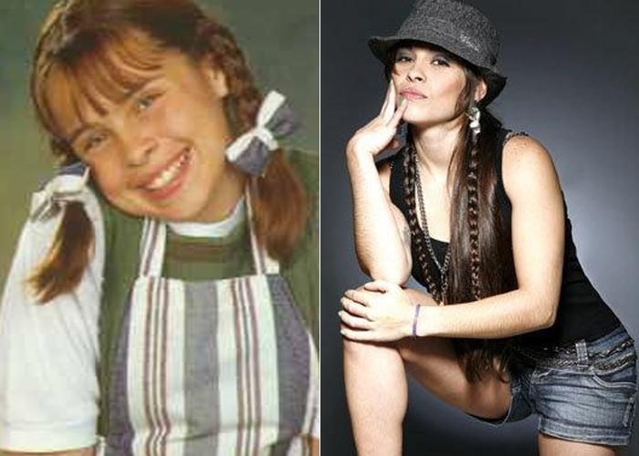 Gisele Frade viveu a 'chiquitita' Bia desde a primeira temporada da novelinha em 1997. Após o programa engatou uma breve carreira na rede Globo, participando de Malhação. Atualmente, Gisele trabalha como DJ e tem duas filhas.