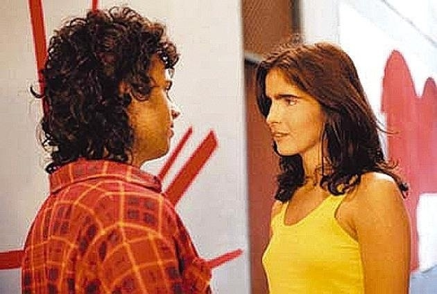 """Malu Mader durante as filmagens de """"Feliz Ano Velho"""", dirigido por Roberto Gervitz (1987)"""