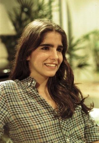 """Malu Mader na pele de Dóris, personagem da novela """"Eu Prometo"""" que marcou sua estreia na Globo, aos 16 anos de idade (1983)"""