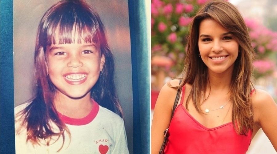 """Olha o sorrisão da Mariana Rios, que postou em seu Twitter a imagem de quando era criança (11/9/12). Em """"Salve Jorge"""", a atriz interpreta Drica, que promete aterrorizar os empregados na novela"""