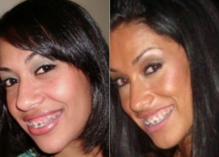 Janaina Batista tem 26 anos e diz que o pessoal a acha parecida com a ex-panicat Dani Bolina; ela é de Osasco (SP)