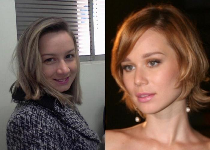 Juliana Alves Batista de Sao Paulo (SP) diz que os amigos a acham parecida com a atriz Mariana Ximenes
