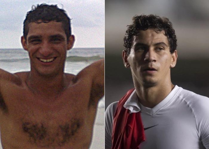 Onaldo Amaral é parecido com o jogador de futebol Ganso, do Santos