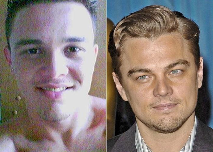 Ricardo de Lima revela que se parece com o astro Leonardo DiCaprio; ele é de Natal (RN). E você, as pessoas costumam te comparar com algum famoso? Então, não perca tempo! O BOL vai te tirar do anonimato, te proporcionando alguns minutos de fama na internet. Para isso, basta enviar sua foto para o email sosiasbol@bol.com.br