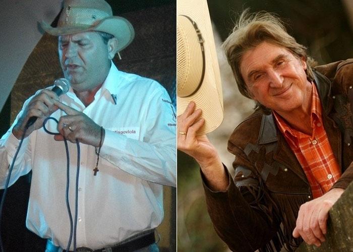Santiago Viola, cantor de Ribeirão Preto (SP), considera uma honra ser confundido com Sergio Reis. Talvez ele tenta talento com a música...