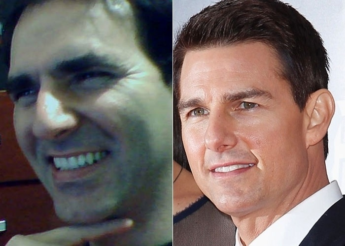 Anderson Rogerio Fontanez se acha parecido com o ator Tom Cruise. Concorda