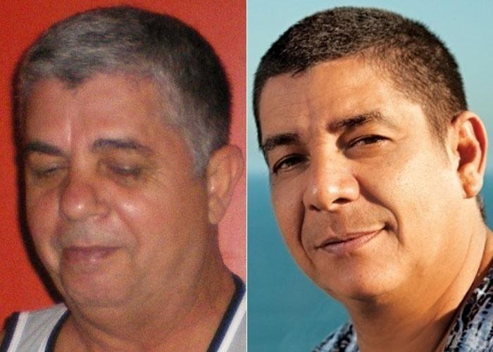 Gilson Ruiz se considera um sósia do cantor Zeca Pagodinho