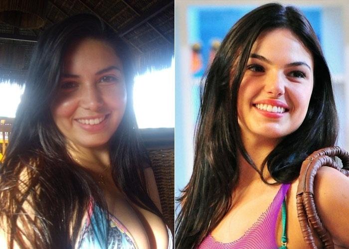 Vanize Sales diz que seus amigos e familiares a comparam  com a atriz Isis Valverde, e questiona 'será que realmente existe alguma semelhança?'