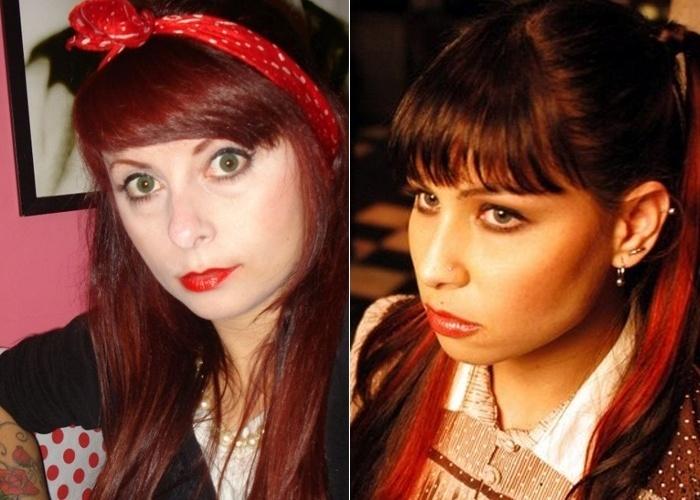 """A internauta Rafaela Matté, de Curitiba (PR), conta que tem 29 anos e sempre falam que ela é parecida com a Pitty. """"Adoro rock"""", completa."""