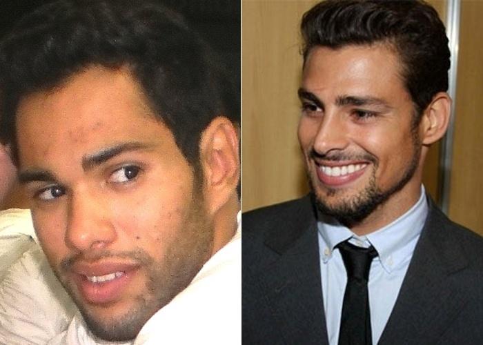 Diego Barcelos vive em Campos dos Goytacazes (RJ). Ele diz que a namorada dele o acha parecido com o ator Cauã Reymond.