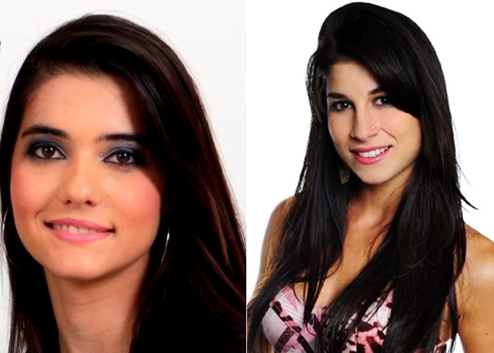 Emanuelle Rocha diz que os amigos a acham parecida com a atriz Chandelly Braz, a Brunessa da novela &#39;Cheias de Charme&#39;.