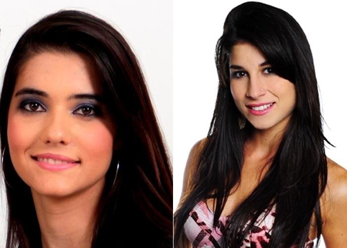 Emanuelle Rocha diz que os amigos a acham parecida com a atriz Chandelly Braz, a Brunessa da novela 'Cheias de Charme'.