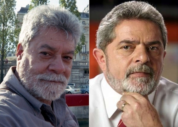 O internauta do apelido Psiaba se acha parecido com o ex-presidente Lula. &#34;Por onde eu passo gritam o nome dele. Quando estive na Europa, os turistas brasileiros tiravam fotos e faziam v&#237;deos&#34;, contou.