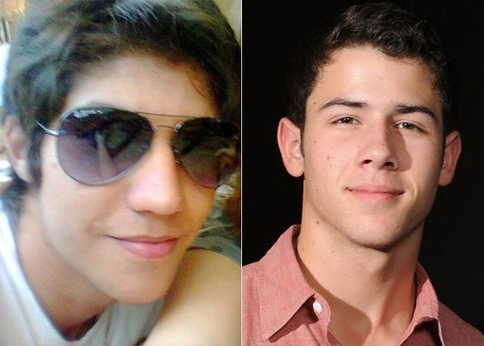 Guilherme de Sá analisa que Nick Jonas, da boy band Jonas Brothers, é a celebridade com que se assemelha