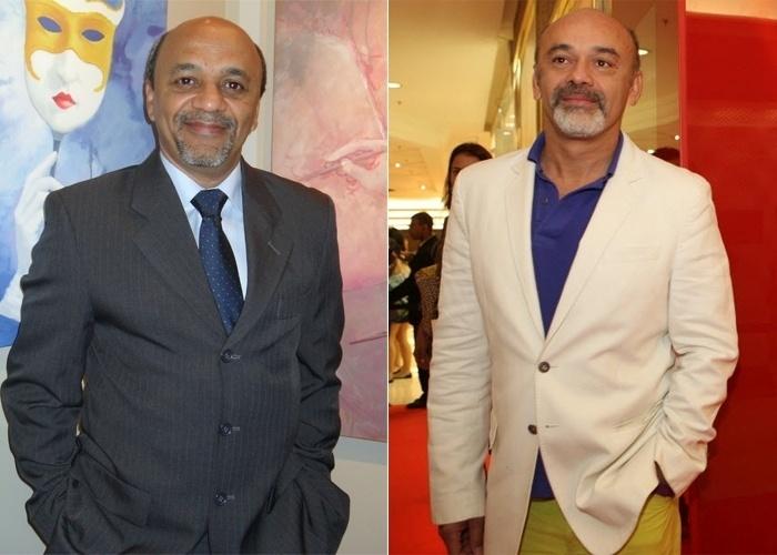 O internauta Mario de Oliveira Sousa, de São Paulo, fala da sua semelhança com o designer de calçados francês Christian Louboutin. Alguém se opõe?