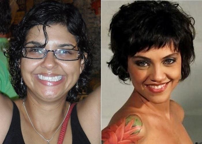 """Sheylla Abreu conta que passaram a dizer que ela é parecida com a atriz Letícia Persiles, intérprete de Miriam em """"Amor Eterno Amor"""""""