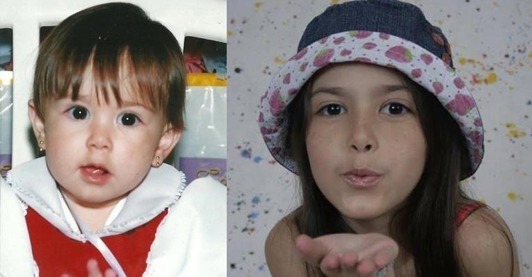 """Kiane Porfirio, a Clementina de """"Carrossel"""", aparece em foto de quando era bebê"""