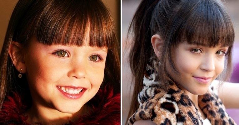 Larissa Manoela, que interpreta a polêmica Maria Joaquina de ?Carrossel?, é uma princesinha desde pequena