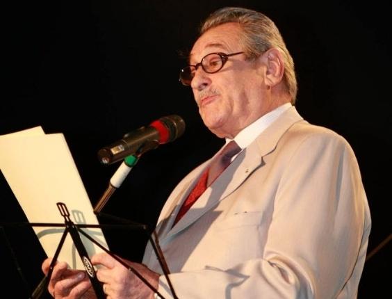 Paulo Goulart participa da abertura da 21ª Bienal Internacional do Livro de São Paulo (12/8/10)