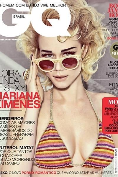 """A atriz Mariana Ximenes, 31, posou para dois ensaios para a revista """"GQ"""" de outubro. A gata esbanjou sensualidade e encarnando uma lolita e uma dominatrix, enquanto era fotografada por Zee Nunes."""