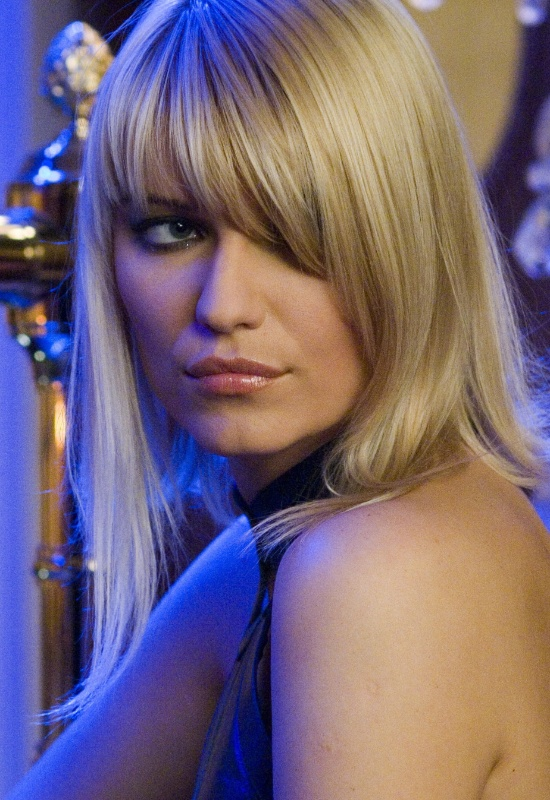 """Ivana Milicevic fez o papel da vilã Valenka, em """"Cayno Royale"""", de 2004"""