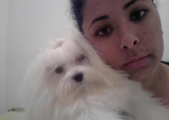 Pipoka é o xodó da Priscila Regina de Valinhos (SP).