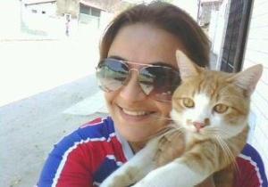 Leão é o gatinho da Eunice.