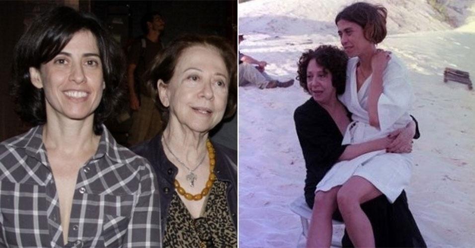 Fernanda Montenegro e Fernanda Torres: a semelhança entre as duas vai muito além do nome. A filha escolheu a mesma profissão que os pais e a cada dia se parece mais com a veterana da TV