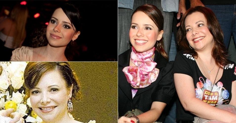 Sandy é a cara da mãe, Noely. Vamos combinar que elas até parecem irmãs em vez de mãe e filha, não é mesmo?