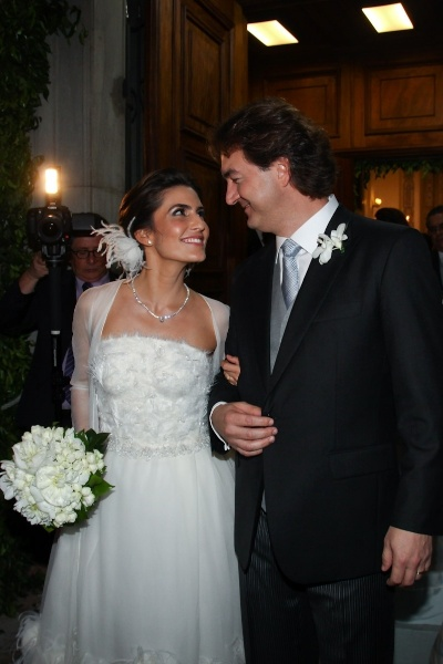 O casal vai curtir duas semana na Toscana (Itália)