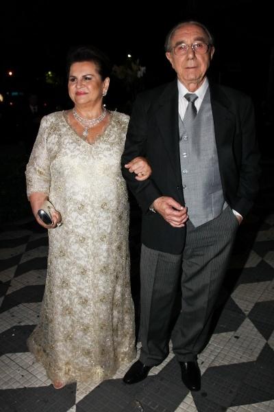 Os pais do noivo