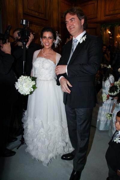 Ticiana Villas Boas e o noivo milionário, Joesley Batista