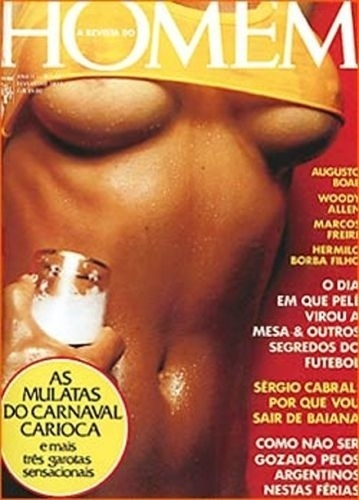 Fevereiro de 1977 - Esmeralda de Barros (capa pela 2ª vez)