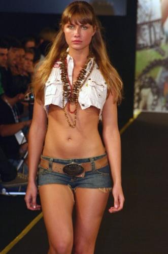 74º lugar - Ana Claudia Michels, modelo brasileira