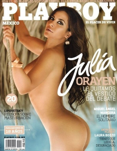 Playboy do México - Julia Orayen